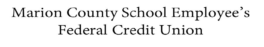 Marion County Schools FCU logo